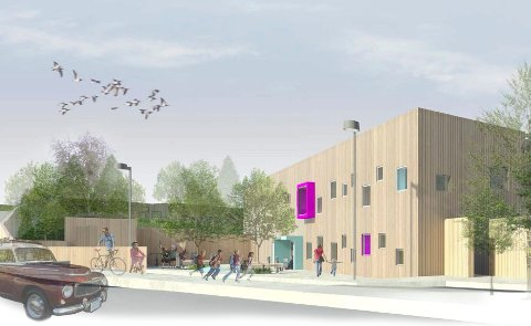 11 BASER: Nye Storgården barnehage på Manglerud får tilsammen 11 baser med barn. Bydelen kan nå glede seg over at de får midler til å åpne alle avdelingene, uten å måtte nedlegge barnehageplasser andre steder. Illustrasjon: Bjerg Arkitektur for Omsorgsbygg