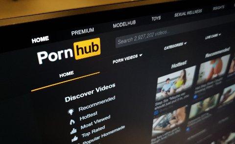 POPULÆR: Pornhub besøkes av 130 millioner mennesker hver dag og er verdens mest besøkte pornoside.