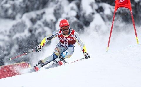 Leif Kristian Nestvold-Haugen vant på Oppdal. Foto: Gabriele Facciotti / AP / NTB