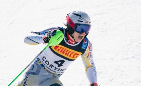 Henrik Kristoffersen kjørte inn til VM-bronse i Cortina d'Ampezzo i vinter. Foto: Torstein Bøe / NTB