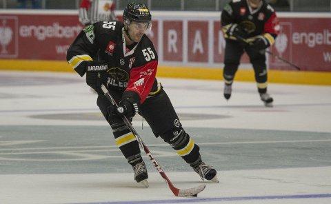 SCORET: Josh Soares scoret for Stavanger Oilers.