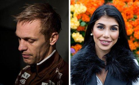 FULL KRANGEL: Fotballspiller Mads Hansen kritiserer Isabel Raad for at hun omtaler kritikken hun har fått for sine plastiske operasjoner som mobbing.