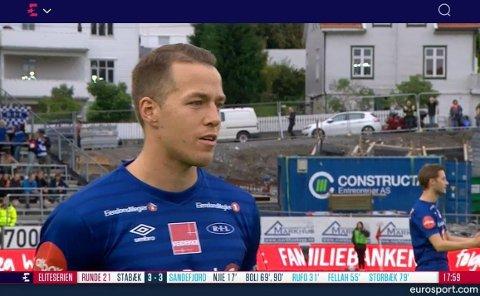 SANG MED: Michal Karlsen sang med på «Nystemten».
