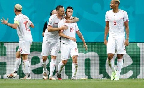 Mario Gavranovic og Sveits gjorde en bra figur i sommerens EM. Nå er det VM-kvalik mot Nord-Irland som står for tur.