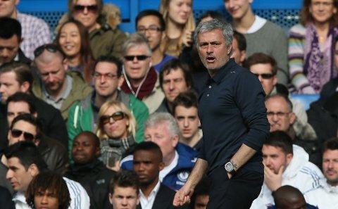 DREPE: Jose Mourinho forteller at Chelsea kom for å drepe Arsenal under lørdagens storkamp.