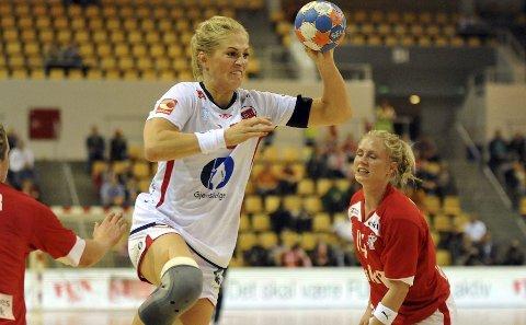 FINTER: Linn Jørum Sulland spilte uten å måtte trekke seg på grunn av smerter, og hadde noen flotte finter.