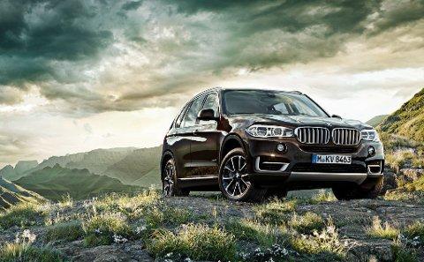 BMW X5: Det er en bil av denne typen som skal selges.