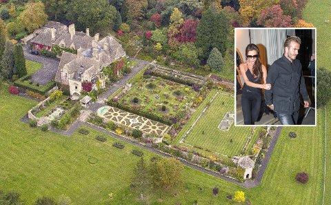 GEDIGEN: Den vakre eiendommen sies å ha vekket interesse hos David og Victoria Beckham.