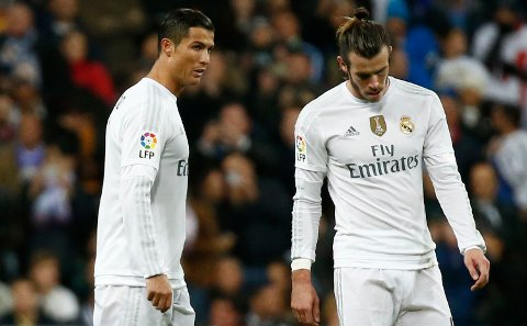 PREMIER LEAGUE: Både Cristiano Ronaldo (t.v.) og Gareth Bale (t.h.) skal ønske seg tilbake til Premier League.