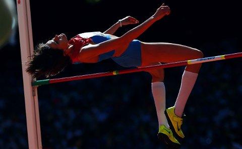 FLERE I DOPINGGARNET: Nylig ble høydehopperen Anna Tsjitsjerova avslørt som en av de russiske utøverne som avla positiv dopingprøve i Beijing-OL i 2008. Nå er ytterligere åtte russere tatt for doping i London-OL, som foregikk fire år seinere.