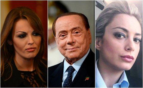 NY KJÆRESTE: Silvio Berlusconi har gjort det slutt med Franscesca Pascale (t.v.), som han var sammen med i 12 år. Nå skal han ha blitt sammen med Marta Fascina (t.h).