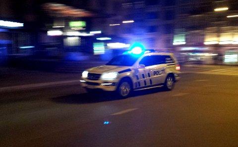 NABO VARSLET OM MULIG VOLDSHENDELSE: Politiet rykket ut, men fikk seg en overraskelse. Illustrasjonsfoto.