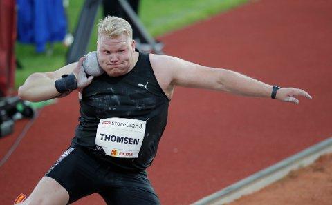 Marcus Thomsen er klar for EM-finale. Foto: Vidar Ruud / NTB