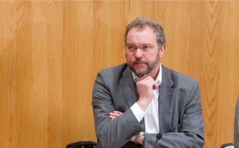 INNLAGT PÅ SYKEHUS: Statsforvalter i Vestland, Lars Sponheim, er sykmeldt inntil videre.