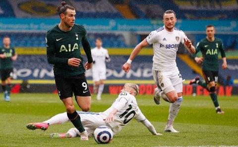 STREVER: Tottenham og Gareth Bale har fått en vrien start borte mot Leeds.