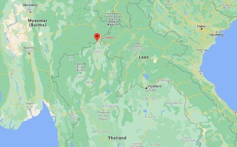1G1-7-hotellet i det såkalte gyldne triangel - grenseområdet der Thailand, Laos og Myanmar møtes.