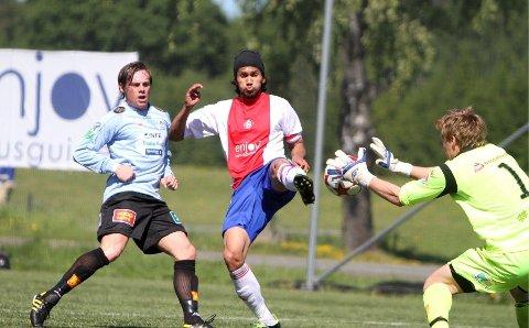 På scoringslisten: Cato Valøy scoret 5-1 målet i lørdagens bortekamp mot Steinkjer.
