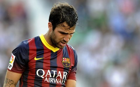 TIL PREMIER LEAGUE: Cesc Fàbregas kan ende opp i England igjen.
