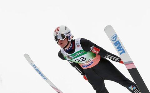 3. PLASS: Daniel-André Tande ble nummer tre i Planica.