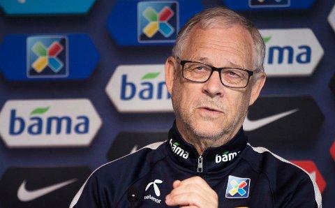 NY TROPP: Lars Lagerbäck har tatt ut troppen som skal møte Kypros og Bulgaria i september.