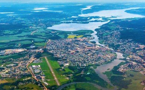 Stat og fylkeskommuner vil ha veksten sentralisert i noen få byer. I Akershus gjelder dette blant annet i Lillestrøm.