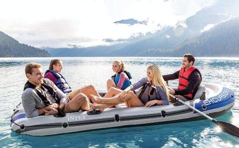 Denne opplåsbare båten er perfekt for turene ut på fjorden