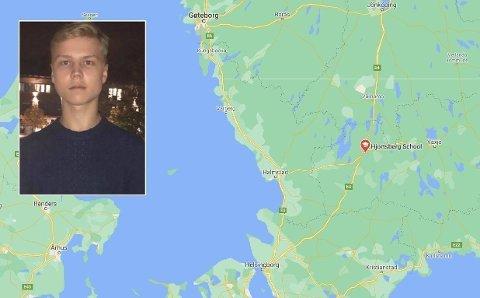 SAVNET: Mattias Borg fra Ljungby sør-øst for Göteborg i Sverige har vært savnet siden 5. desember.