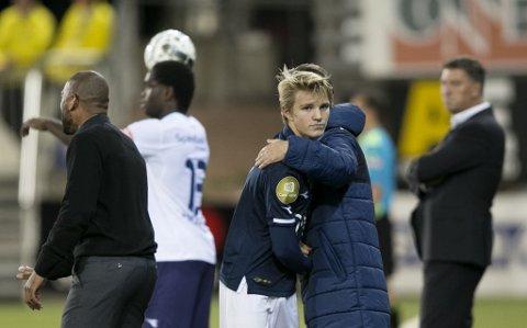 I FOKUS: Det meste handler om Martin Ødegaard i norsk fotball.