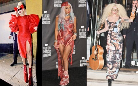 VILT: Det er ingen tvil om at Lady Gaga har hatt en utagerende klesstil. Foto: Bulls
