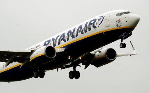 LEI AV FYLLA: Ryanair er lei av fulle britiske passasjerer.