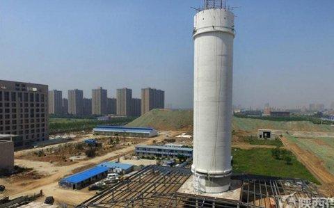 LUFTRENSER: Kina har bygget verdens største luftrenser, men planlegger å bygge langt større i fremtiden.