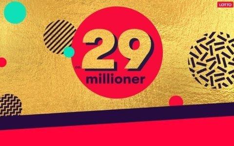 POTTEN DOBLES: Lørdag er det ca. 29 millioner kroner i førstepremiepotten.