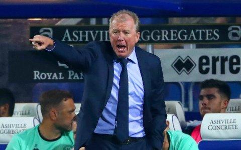 FERDIG: Queens Park Ranger skiller lag med Englands tidligere landslagssjef Steve McClaren. Her er McCLaren avbildet under en ligacupkamp mot Reading tidligere i år.