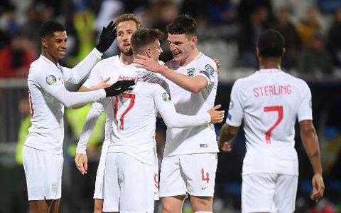 England er favoritter til å vinne Euro 2020
