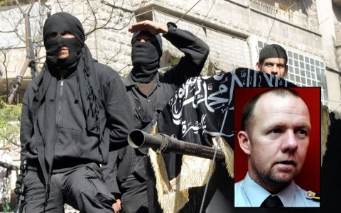 Lokal PST-sjef i Østfold Øyvind Nilsen bekrefter ovenfor F-b.no at tallet på antall jihadister som reiser fra Østfold til Syria er økende. Foto: Scanpix/ F-b.no arkivbilde