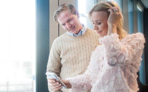 FIKK SEG KJÆRESTE: Blogger Anne Brith Davidsen og kjæresten Erik Skaar har funnet lykken sammen. Møt henne i Det Store Intervjuet.