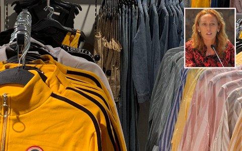 KLIMASJOKK: - Den globale produksjonen av klær og sko står for 8 prosent av verdens utslipp av drivhusgasser, sier Elisa Tonda i UNEP (UN Environment Programme).