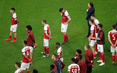 TAPTE FINALEN: Arsenal.