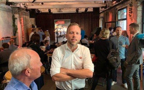 SV-lederAudun Lysbakken åpner SVs nasjonale valgkamp torsdag.