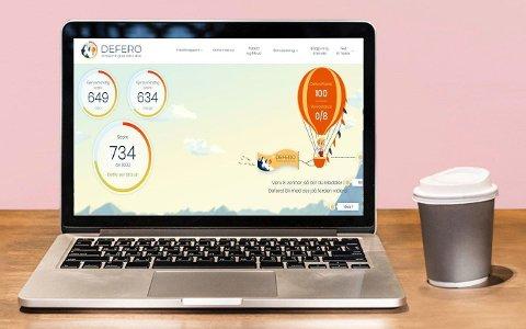 Hvis du sjekker kredittscoren din gratis hos Defero, bør du håpe på at resultatet blir 734 eller høyere.