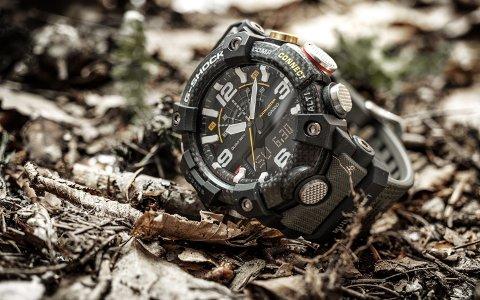 G-Shock Mudmaster GG-B100 er navnet på klokken deltakerne i Kompani Lauritzen bruker.