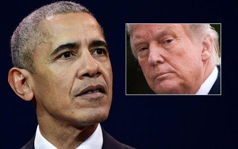 – Dette er ikke noe realityshow. Dette er virkeligheten, sa Obama og hevdet at Trump har bevist at han er «ute av stand til å ta jobben seriøst».