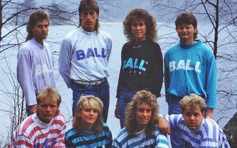 Ball har delt dette flotte bildet fra 80-tallet på sin offisielle hjemmeside.