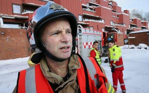 Brannsjef i Tromsø Nils Ove Sollid.