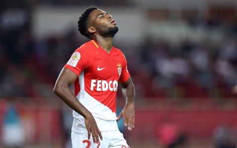 FRUSTRERT ELLER FORNØYD? Monaco-juvelen Thomas Lemar kobles stadig vekk til nye klubber. Her fra Monacos hjemmekamp mot Montpellier tidligere i sesongen.
