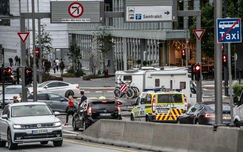 BOMMET PÅ CO2-UTSLIPP: En rapport fra 2017 som skulle fortelle hvor mye trafikkreduksjon som må til for at Oslo kommune skal nå sine klimamål, er feil. Det virkelige Co2-utslippet er trolig bare halvparten av tidligere beregnet.