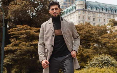 Emre Can har lånt ut sin stil til H&M høsten 2019
