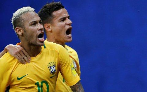 DROPPET TILBUDENE: Neymar (til venstre) kunne gjort som landsmann Philippe Coutinho og gjort Premier League-spiller av seg i sommer.