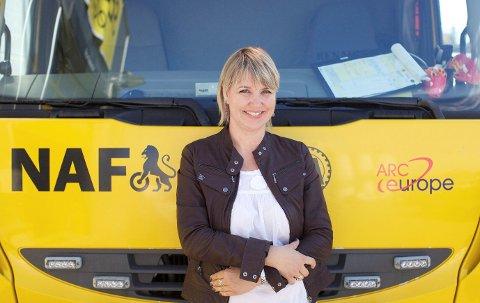 SKUFFET: Kommunikasjonssjef Inger Elisabeth Sagedal i NAF sier at mange bilister blir skuffet over Oslopakke 3.