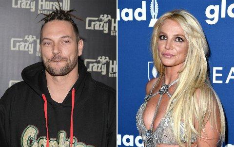 VIL HA TRE GANGER SÅ MYE: Kevin Federline, Britney Spears' eksmann, mener han bør få tre ganger så mye i barnebidrag for deres to sønner.